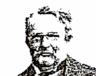 Pixelated Illustration of Chesterton